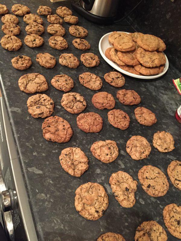 Table of cookies